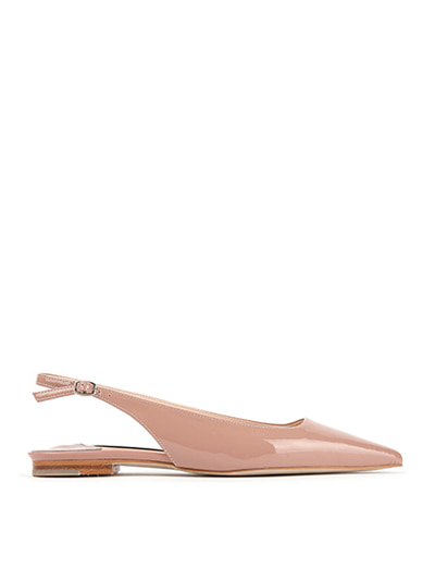 FLAT Slingack -  Neutral nude Rose