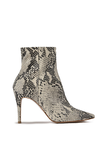 2019 FW Diana bootie - GRAY Python Pattern