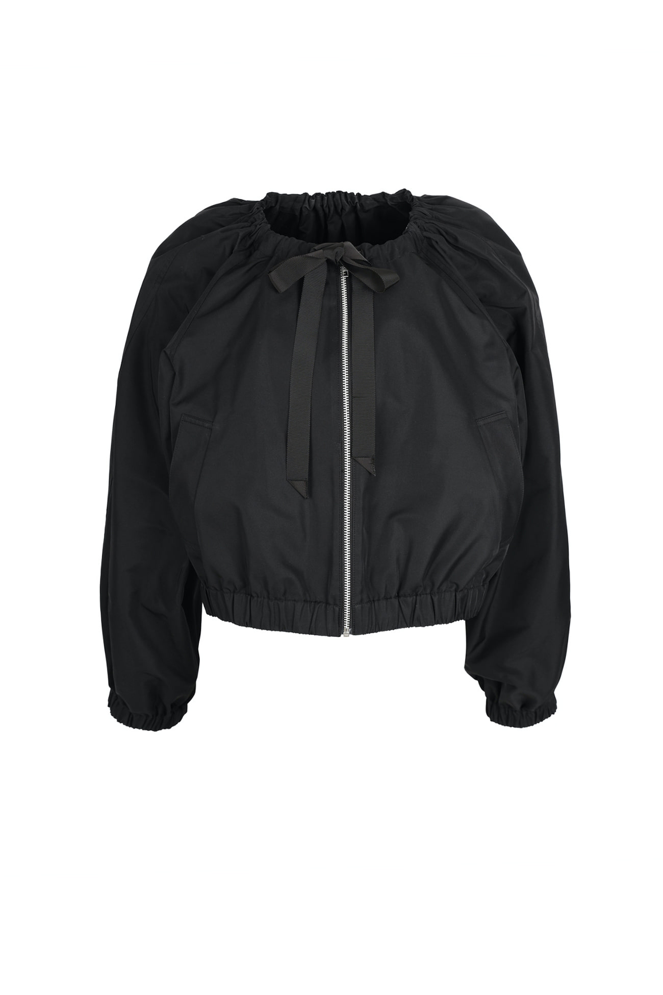 HIGH QUALITY LINE - Black classic bomber Jacket (2차 Reorder)
